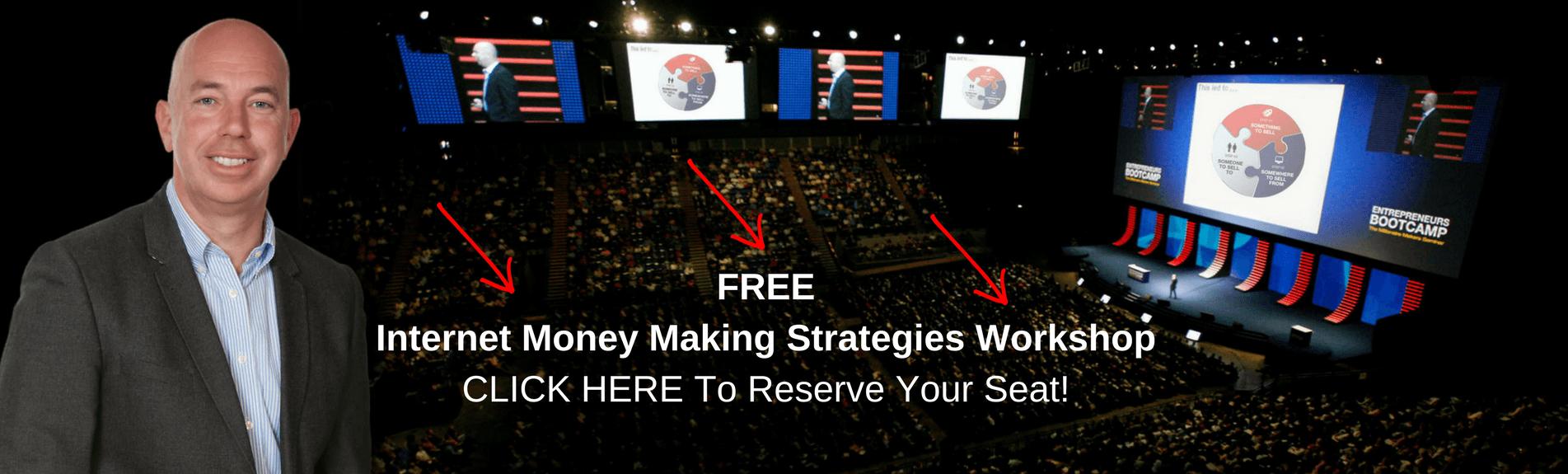 FREE Internet Money Making Strategies Workshop